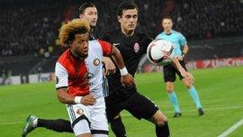 """Зоря"" – ""Фейєнорд"": Два ключових хавбеки голландців пропустять матч"