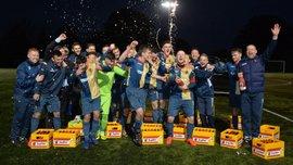 Ван дер Сар подарував 27 ящиків пива шотландському клубу на честь нового світового рекорду
