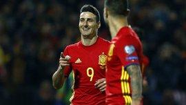 Адуріс став історичним рекордсменом збірної Іспанії, забивши Македонії
