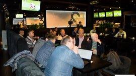 """ТМ """"Parimatch"""" собрала экспертов и журналистов для обсуждения игры сборной"""