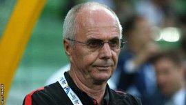 Эрикссон заменил Зеедорфа на посту тренера китайского клуба