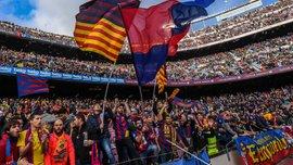 """""""Барселона"""" лідирує у Європі за відвідуваністю домашніх матчів у сезоні-2016/17"""