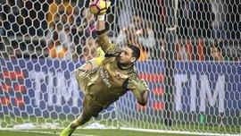 """Доннарумма видав фантастичний фінт у своєму воротарському в Суперкубку проти """"Ювентуса"""""""