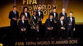 У мережі з'явилось фото Команди року-2016 ФІФА