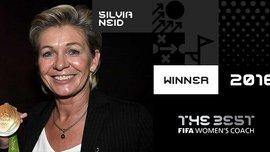 Наставник збірної Німеччини Сільвія Найд – найкращий жіночий тренер 2016 року