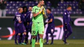 """Голкипер """"Кьево"""" Соррентино попросил билеты на матч против """"Интера"""" в соцсети"""