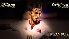 Брайан Руис – лучший игрок КОНКАКАФ в 2016 году