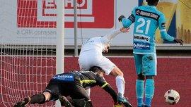 """Как Ловре Калинич спасал """"Гент"""" даже на коленях и сделал еще 7 чудо-сейвов на все вкусы в одном матче"""