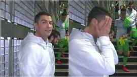 Роналду пошутил над бывшим одноклубником так, что Криштиану самому стало стыдно