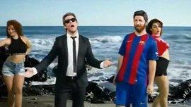 """Сеть взорвала пародия на Месси и Луиса Энрике, которые поют о неудачах """"Барселоны"""""""