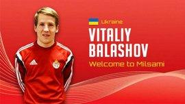 """Балашов став гравцем """"Мілсамі"""""""