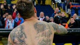 """Капітана """"Сельти"""" Мальйо роздягнули до трусів у Харкові після матчу проти """"Шахтаря"""""""