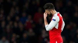 """""""Арсенал"""" вперше у своїй історії пропустив 5 голів на """"Емірейтс"""""""