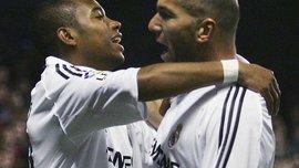 Робинью: Зидан и Роналдо – лучшие футболисты, с которыми я играл