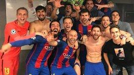 """""""Барселона"""" заставила снять штаны экс-президента клуба Гаспара и австрийских телеведущих"""