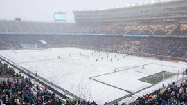 Матч в самую холодную погоду в истории МЛС собрал 35 тысяч зрителей на стадионе