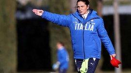 Женщина-тренер Патриция Панико возглавила сборную Италии U-16