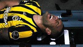 """Нападающий """"Фенербахче"""" Фернандао получил ужасный перелом руки в матче против """"Коньяспора"""""""