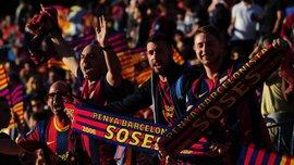 """УЕФА оштрафовал """"Барселону"""", """"Наполи"""" и """"Ростов"""" из-за поведения их фанатов"""
