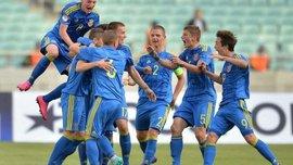 Украина U-17 уступила Франции U-17 в элит-раунде квалификации на Евро-2017