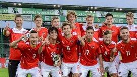 Австрія U-17 обіграла Швецію U-17 в еліт-раунді кваліфікації на Євро-2017