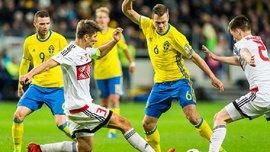 Швеция – Беларусь – 4:0. Видео голов и обзор матча
