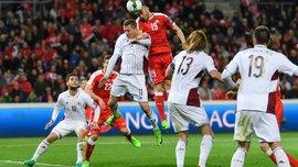 Швейцария – Латвия – 1:0. Видео гола и обзор матча