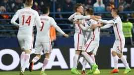 Черногория – Польша – 1:2. Видео голов и обзор матча