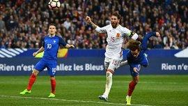 Франция уступила Испании в товарищеском матче