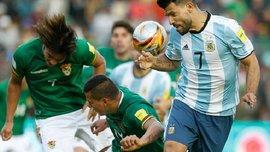 Збірна Болівії переконливо перемогла Аргентину