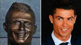 Жахливе погруддя Роналду висміяли в соцмережах – найкращі меми