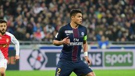 Тьягу Силва подарил футболку эмоциональной фанатке после победы в финале Кубка французской лиги
