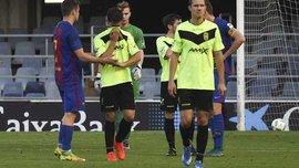 """""""Ельденсе"""" знявся з 3-го дивізіону Іспанії після поразки 0:12 від """"Барселони Б"""""""