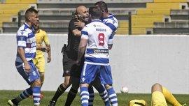 В Португалії футболіст вдарив рефері коліном в обличчя і отримав пожиттєвий бан