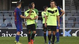 """Нападник """"Ельденсе"""" Шейк заявив, що 4 його партнери здали матч """"Барселоні Б"""""""