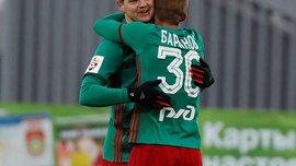 Михалик отримав сильний удар в голову в матчі Кубка Росії