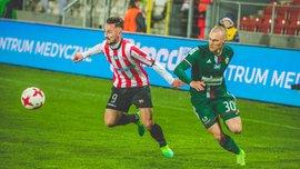 """Игроки """"Краковии"""" нанесли 4 удара за 5 секунд, но не смогли попасть по воротам"""