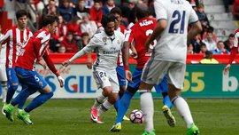 """""""Реал"""" вырвал волевую победу над """"Спортингом"""" благодаря феноменальному Иско"""