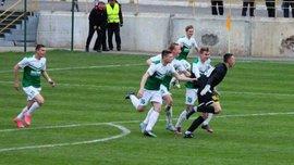 """18-річний воротар """"Олександрії"""" U-21 Гаврусевич забив крутий гол і врятував команду від поразки"""