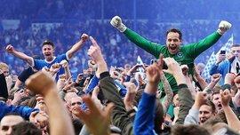 "Знаменитый ""Портсмут"" выиграл 4-й дивизион Англии и феерично отметил с фанатами"