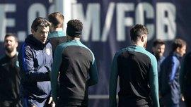 MD: Неймар поскандалил с Унсуэ из-за замечания на тренировке Барселоны