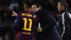 Marca: Неймар разозлился на Унсуэ из-за слов о Роналдиньо