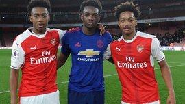 В матчі молодіжних команд Манчестер Юнайтед та Арсенала один проти одного зіграли аж 3 брати