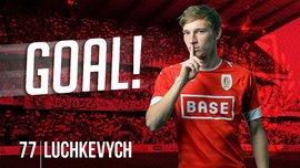 Лучкевич забил дебютный гол за Стандард в матче с Мехеленом