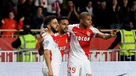 Мбаппе выполнил эффектный ассист на Бернарду Силву в матче Монако – Лилль