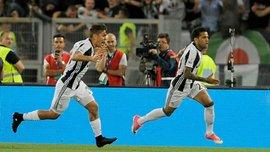 Ювентус уверенно обыграл Лацио и выиграл Кубок Италии