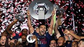Игроки Монако сорвали пресс-конференцию Жардима, празднуя чемпионство Франции