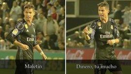 Роналду обвинил игрока Сельты в получении портфеля с деньгами прямо во время матча