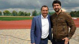 Павелко открыл новое искусственное поле в одной из школ Днепра