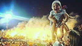 Ультрас Партизана поразили невероятным огненным шоу на весь стадион в честь чемпионства